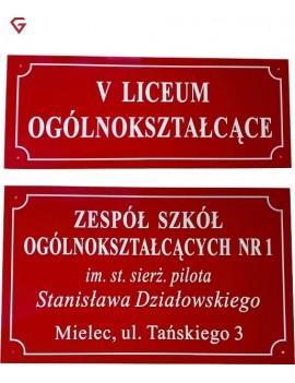 SZYLD Tablica informacyjna...